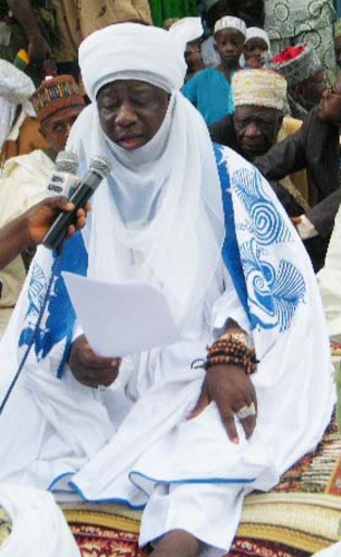 Prof Amuda-Kannike (SAN) commiserates with Emir of Ilorin over mother's transition