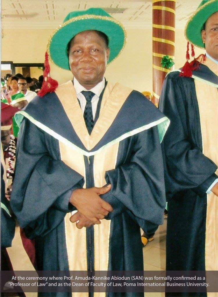 Prof Amuda-Kannike chairs 'Contempt of Court' session of NBA-Port Harcourt 2019 Law Week